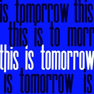 This is tomorrow