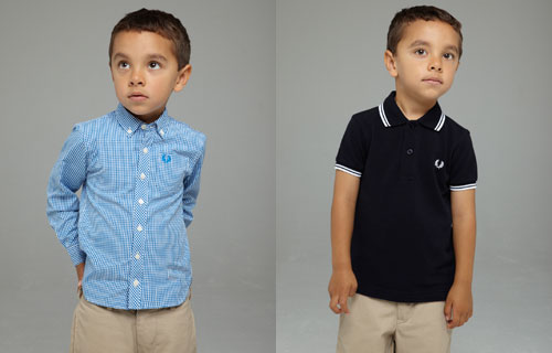 Fred Perry Kidswear range