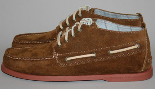 His Knibs classic men's style: Sperry Topsider suede chukka boots