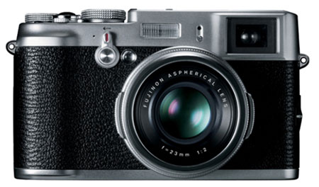 Fujifilm's retro FinePix X100 camera