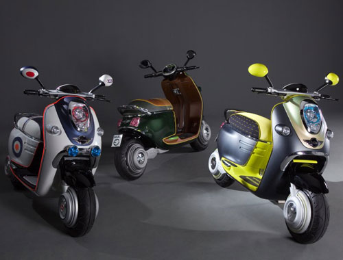 Mini creates the 'mod' electric scooter