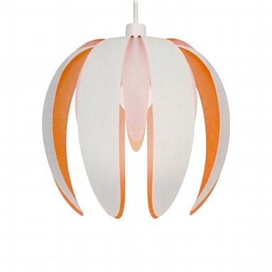 Orange and white pendant