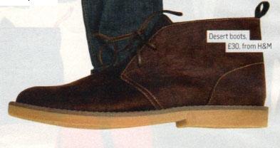 H&M's budget desert boots