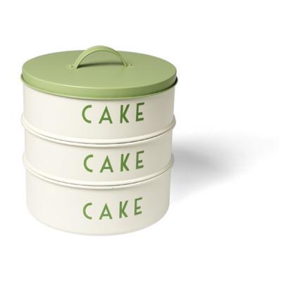Stacking cake tines