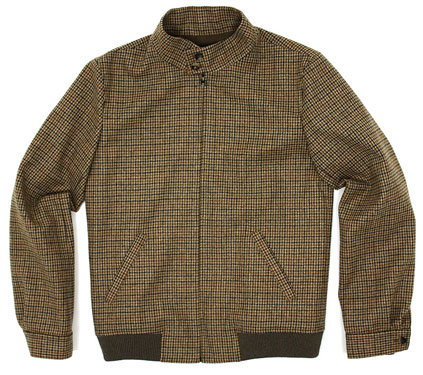 Tweed Harrington jacket by A.P.C