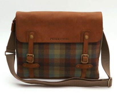 Satchel-style messenger bag by Pendleton | Retro to Go