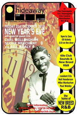 Hideaway Club NYE Special