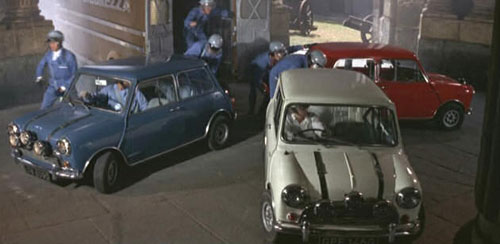Italian Job Minis in London