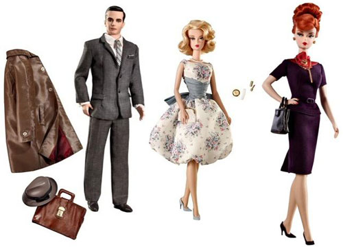 Mad Men Barbie dolls hit the UK