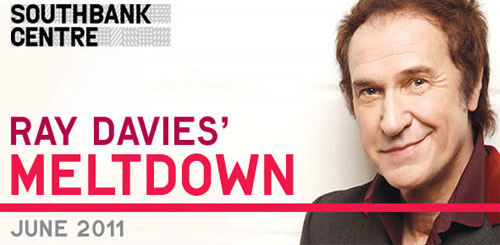 Ray Davies curates Meltdown 2011
