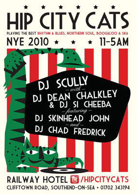 Hip City Cats NYE in Southend