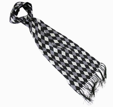 Diamond pattern Tootal scarves