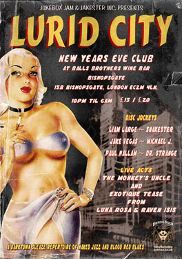 The Lurid City NYE – London