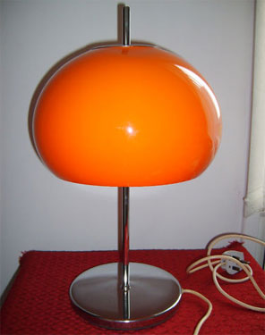Ebay Watch 1970s Guzzini Style Mushroom Table Lamp