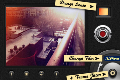 8mm Vintage Camera app for iPhone
