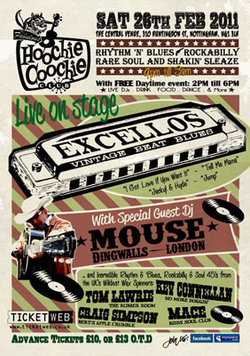 Upcoming Hoochie Coochie Clubs