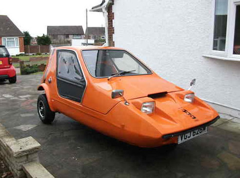 It S A Cult Car From The E Age End Of 1970s And Bond Bug Is On Ebay Right Now