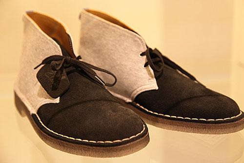Clarks x Loopwheeler desert boots