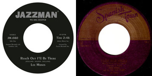 New Jazzman Records 45s