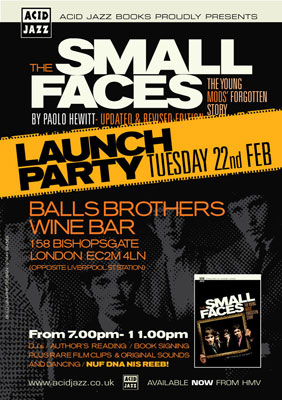 Small Faces book launch party