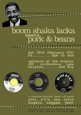 Boom Shaka Lacka x Pork & Beans