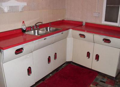 Ebay Watch English Rose 1950s Kitchen Units Retro To Go