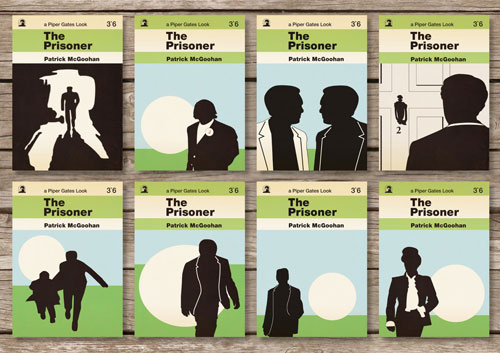 The Prisoner postcards by Piper Gates