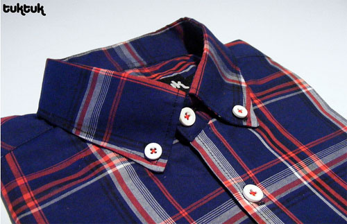 TukTuk Highland check shirt