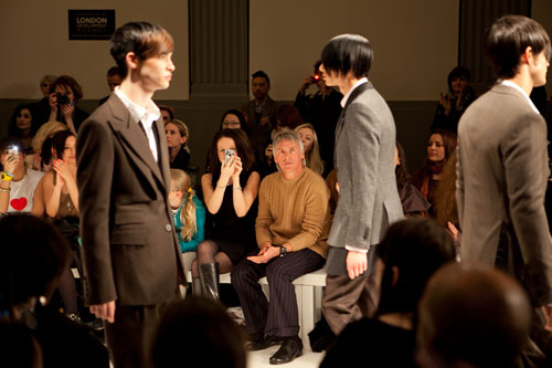 Paul Weller at Vauxhall Fashion Scout