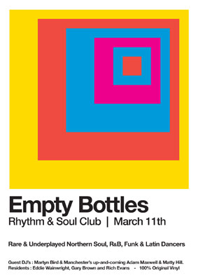 Empty Bottles club night in Leeds