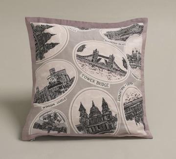 Postcard cushions