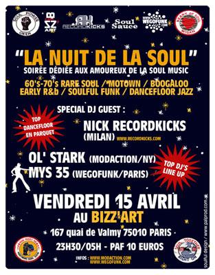 La Nuit De La Soul – Paris
