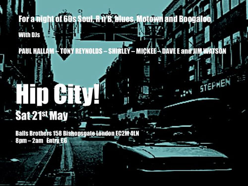 Hip City! returns to London