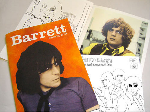 The Syd Barrett colouring book
