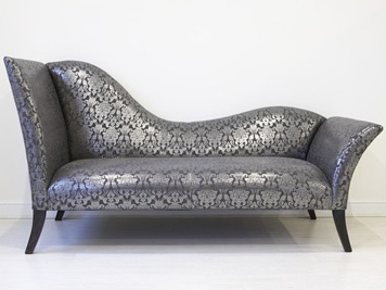 Silver-chaise-longue