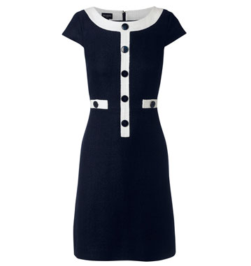 60s-style Megan dress at Hobbs