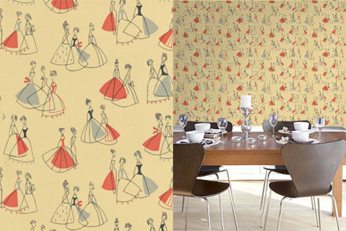 High Quality But The Company Has Other Period Papers On The Market, Including The  Sanderson Fifi Wallpaper ... Home Design Ideas
