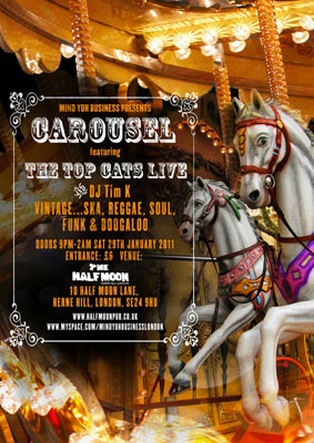 Carousel night in London