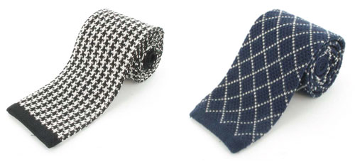 Moody's knitted ties and accessories