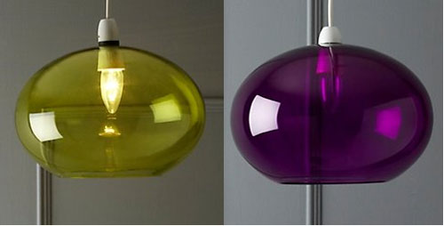 Switched on set kartell like glass dome pendant light at bhs stores isnt exactly the first place we would look for interesting design but we have looked there and weve found this glass dome pendant light aloadofball Images