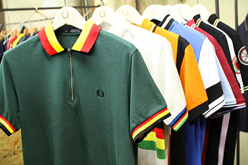 Fred Perry Cycling polo shirts