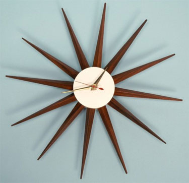 A Real Gem Has Landed On Ebay This Original 1950s George Nelson Wall Clock By Howard Miller But There Is One Small Problem With It