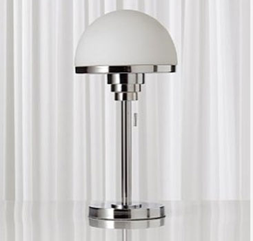 1930s Art Deco Style Half Moon Table Lamp At Marks