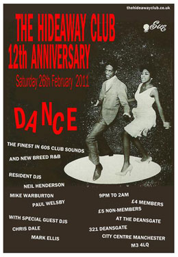 Hideaway Club 12th anniversary night