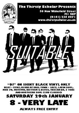 Suitable mod night in Manchester