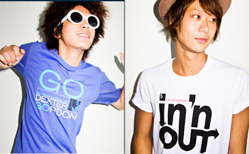 Uniqlo x Blue Note Records t-shirts