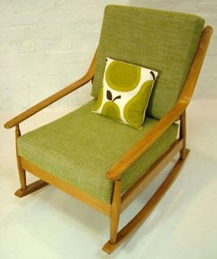 low priced 8c059 03950 eBay watch: Midcentury Danish rocking chair - Retro to Go