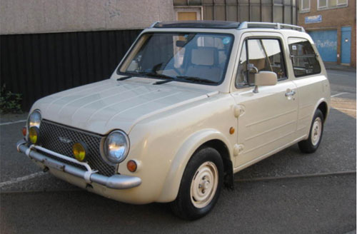 eBay watch: Nissan Pao retro-styled car - Retro to Go