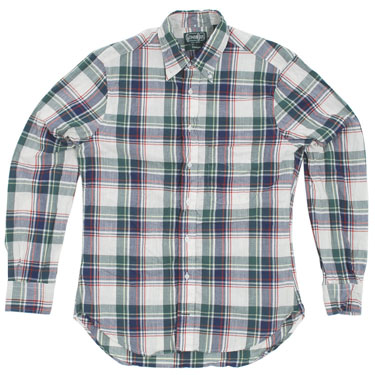 Gitman Vintage Madras check shirts