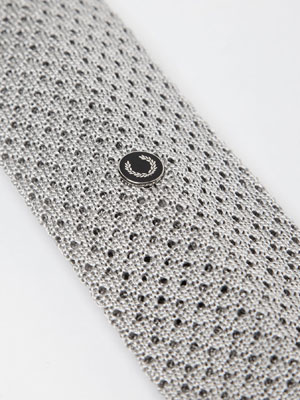 Fred Perry does silk knitted ties